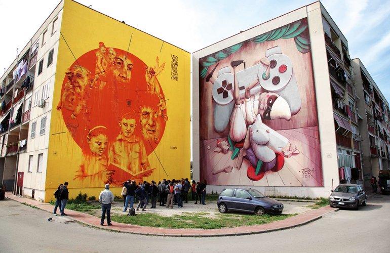 L Arte Pubblica E La Rigenerazione Creativa Delle Citta Italiane
