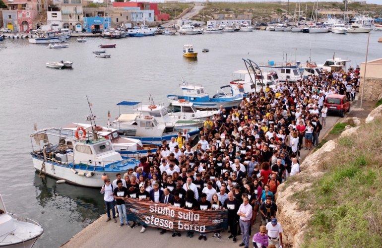 """L'Europa inizia a Lampedusa"""